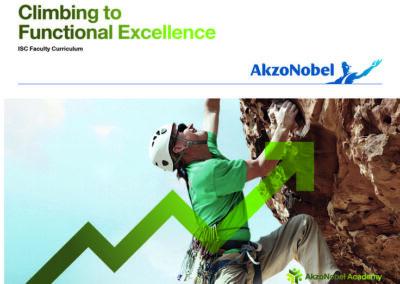 Brochure Functional Excellence program AkzoNobel